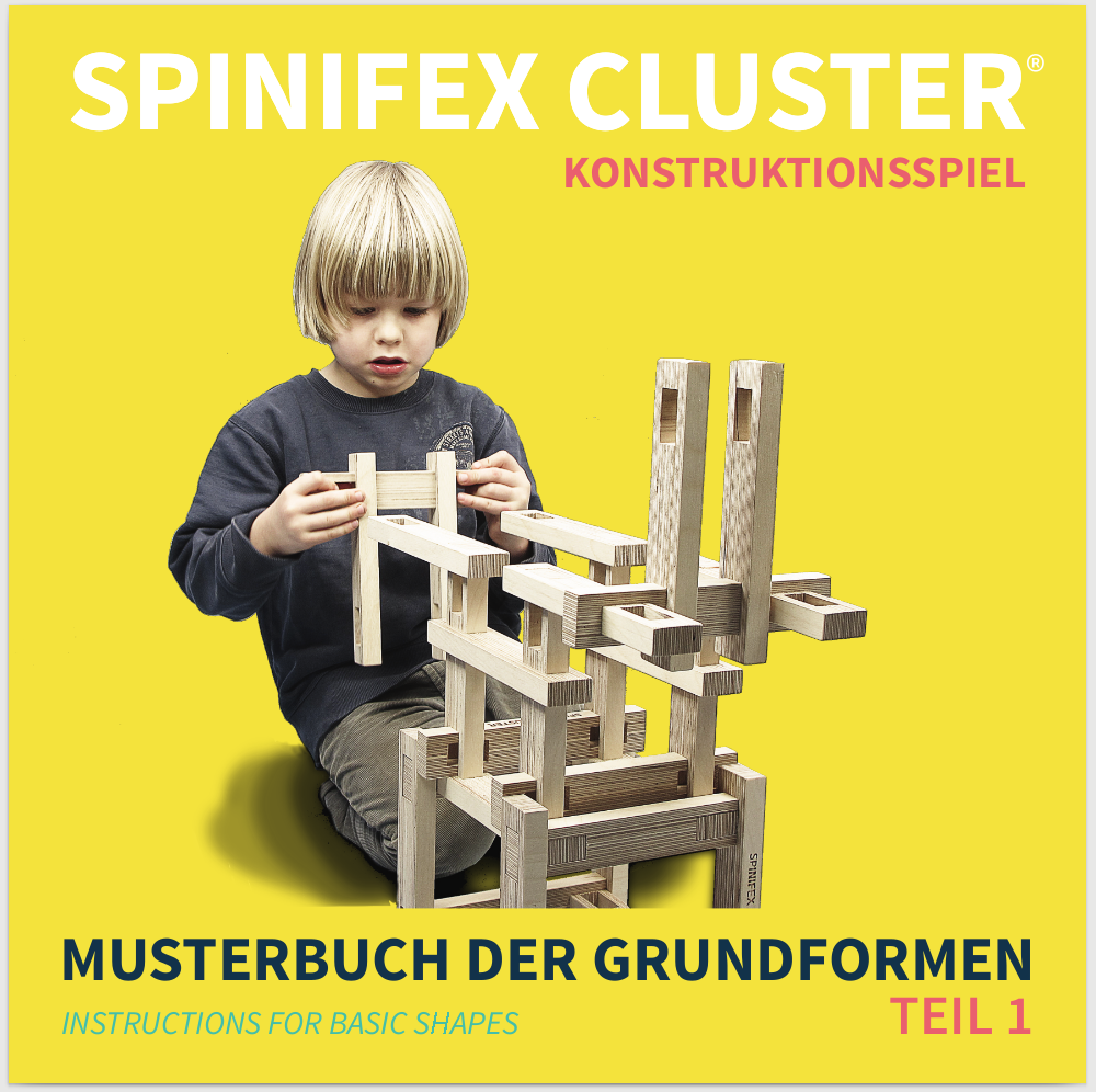 SPINIFEX CLUSTER Konstruktionsspiel wood construction kit